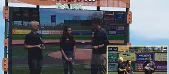 Abbey and Joe IronPigs Community Star Award Recipients