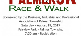 Palmer5K Race and Walk Event