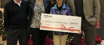 First Energy Makes Donation