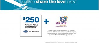 Subaru Shares the Love!